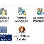 IIS 7.x Shared Configuration