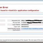 "Handler ""PHP5x_via_FastCGI"" has a bad module ""FastCgiModule"" in its module list"